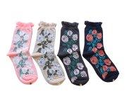<img class='new_mark_img1' src='https://img.shop-pro.jp/img/new/icons7.gif' style='border:none;display:inline;margin:0px;padding:0px;width:auto;' />mina perhonen(ミナ ペルホネン)/Lady's rosy socks