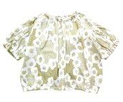 mina perhonen(ミナ ペルホネン)/flower dance tops / yellow