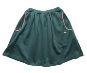 mina perhonen(ミナ ペルホネン)/sortir skirt green