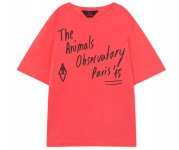 <img class='new_mark_img1' src='https://img.shop-pro.jp/img/new/icons7.gif' style='border:none;display:inline;margin:0px;padding:0px;width:auto;' />The Animals Observatory/ROOSTER OVERSIZE KIDS T-SHIRT/red