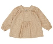 <img class='new_mark_img1' src='//img.shop-pro.jp/img/new/icons7.gif' style='border:none;display:inline;margin:0px;padding:0px;width:auto;' />CARAMEL(キャラメル )/Victoria Blouse/Green Polka Dot