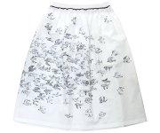 <img class='new_mark_img1' src='https://img.shop-pro.jp/img/new/icons7.gif' style='border:none;display:inline;margin:0px;padding:0px;width:auto;' />mina perhonen(ミナ ペルホネン)/kanata skirt/white