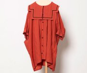 <img class='new_mark_img1' src='https://img.shop-pro.jp/img/new/icons20.gif' style='border:none;display:inline;margin:0px;padding:0px;width:auto;' />【40%off】folk made(フォルクメイド)/sailor coller shrits/brick red