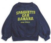 <img class='new_mark_img1' src='https://img.shop-pro.jp/img/new/icons7.gif' style='border:none;display:inline;margin:0px;padding:0px;width:auto;' />BOBO CHOSES(ボボ・ショーズ)/Spaghetti Car Banana sweatshirt