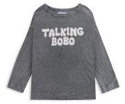 <img class='new_mark_img1' src='https://img.shop-pro.jp/img/new/icons7.gif' style='border:none;display:inline;margin:0px;padding:0px;width:auto;' />BOBO CHOSES(ボボ・ショーズ)/Talking Bobo long sleeve T-shirt