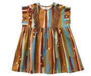<img class='new_mark_img1' src='https://img.shop-pro.jp/img/new/icons7.gif' style='border:none;display:inline;margin:0px;padding:0px;width:auto;' />eLfinFolk(エルフィンフォルク)/Crambon stripe dress - brown