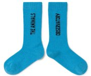 <img class='new_mark_img1' src='https://img.shop-pro.jp/img/new/icons7.gif' style='border:none;display:inline;margin:0px;padding:0px;width:auto;' />The Animals Observatory/WORM KIDS SOCKS - BLUE