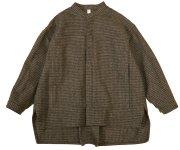 <img class='new_mark_img1' src='https://img.shop-pro.jp/img/new/icons7.gif' style='border:none;display:inline;margin:0px;padding:0px;width:auto;' />MOUN TEN.(マウン テン)/cotton tweed work jacket - brown