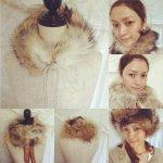【数量限定】coyote fur ティペット