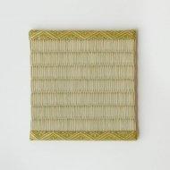 飾り小畳_金緑縁(11.5×11.5cm)