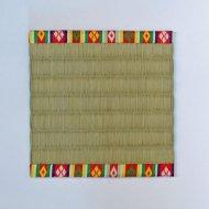 飾り小畳_繧繝縁(11.5×11.5cm)