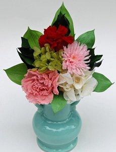 プリザーブドフラワーの仏花(清光ー桃色)
