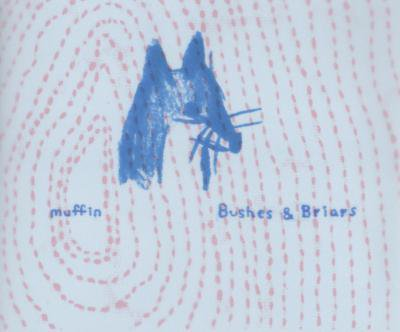 muffin 『茂みとイバラ (Bushes&Briars)』 (CD-R/JPN/ FOLK)