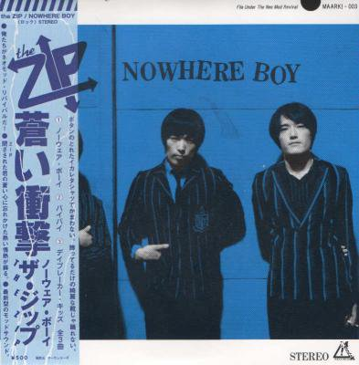 the ZIP 『NOWHERE BOY - 蒼い衝動』 (CD/JPN/ PUNK, ROCK)
