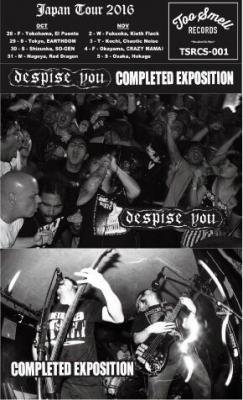 COMPLETED EXPOSITION / despise you 『Japan Tour 2016 SPLIT』 (TAPE+DOWNLOAD/JPN&US/ HARDCORE)