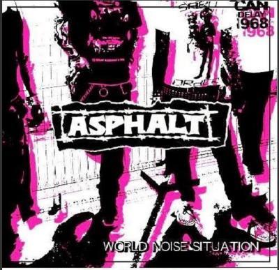 ASPHALT 『WORLD NOISE SITUATION [初回プレス/ブラックケース仕様]』 (CD/JPN/ HARDCORE)