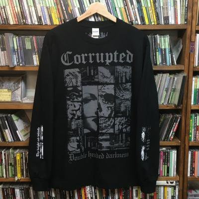 Corrupted 『Double headed darkness #1 Long Sleeve T-Shirts』 (TEE/JPN/ HARDCORE)