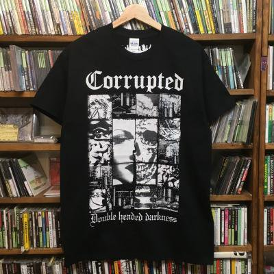 Corrupted 『Double headed darkness #1 T-Shirts』 (TEE/JPN/ HARDCORE)
