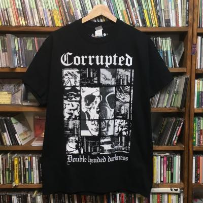Corrupted 『Double headed darkness #2 T-Shirts [在庫Sサイズのみ]』 (TEE/JPN/ HARDCORE)