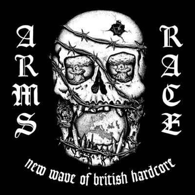 ARMS RACE 『NEW WAVE OF BRITISH HARDCORE - COMPLETE DISCOGRAPHY』 (CD/UK/ HARDCORE) ★特典缶バッジ付き!!