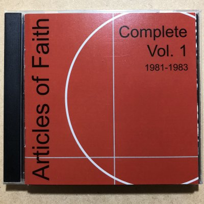 【中古】Articles of Faith『Complete vol.1 1981-1983』(CD/HARDCORE)