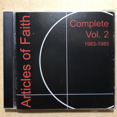 【中古】Articles of Faith『Complete vol.2 1983-1985』(CD/HARDCORE)