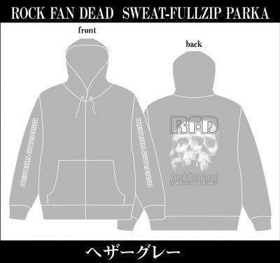 RISE FROM THE DEAD 『ROCK FAN DEAD Zip Parka [ヘザーグレー]』 (PARKA/JPN)