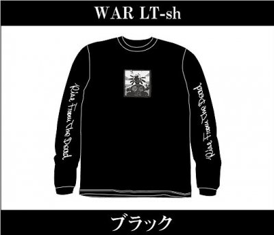 【4/12〆切 予約受け付け中】 RISE FROM THE DEAD 『WAR Long Sleeve T-Shirts [ブラック]』 (TEE/JPN)