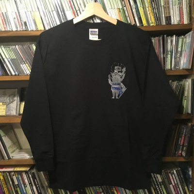 THE GUILTY C. 『電圧くん Long Sleeve T-Shirts [ブラック/Youth Lサイズ]』 (TEE/JPN)
