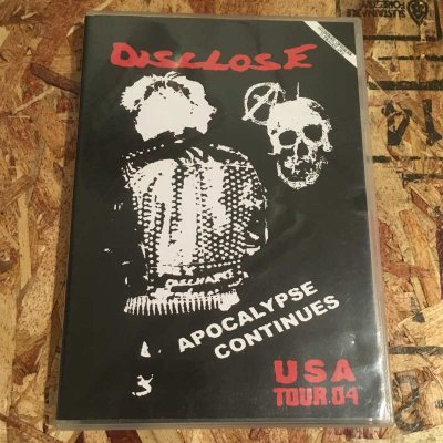 【USED】 DISCLOSE 『WEST COAST CHAINSAW TOUR 2004』 (DVD/JPN/ HARDCORE)