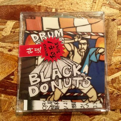 【USED】 £01 『BLACK DONUTS -DRUM SONGS-』 (CD-R/JPN/ MIX CD , 和物)