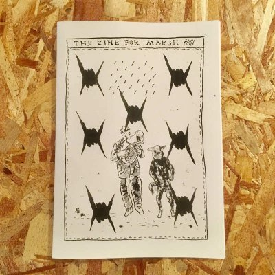 INA 『THE ZINE FOR MARCH #8』 (ZINE/JPN/ ART)