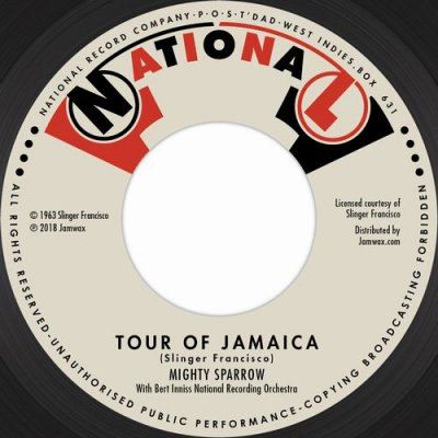 MIGHTY SPARROW 『TOUR OF JAMAICA』 (GRENADA/Others)