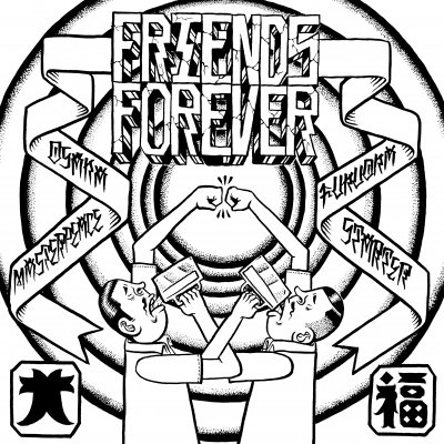 STARTER / MASTERPEACE 『FRIENDS FOREVER』 (CD/JPN/ HARDCORE) ★特典ジャケ缶バッジ付き!!