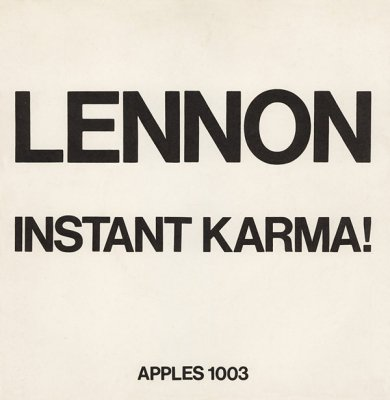 Lennon/Ono with the Plastic Ono Band 『Instant Karma! (2020 Ultimate Mixes)』 (7