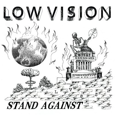 LOW VISION 『STAND AGAINST』 (CD/JPN/ HARDCORE)