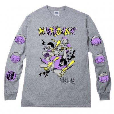 MASTERPEACE 『CASPER × MOST × MIZYURO Long sleeve T-Shirts [ミックスグレー]』 (JPN/TEE)