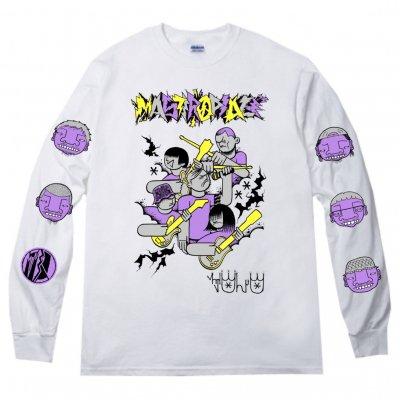 MASTERPEACE 『CASPER × MOST × MIZYURO Long sleeve T-Shirts [ホワイト]』 (JPN/TEE)