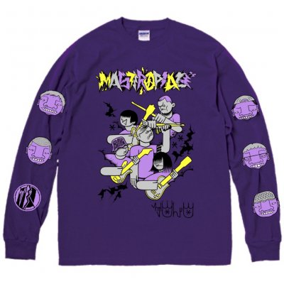 MASTERPEACE 『CASPER × MOST × MIZYURO Long sleeve T-Shirts [パープル]』 (JPN/TEE)
