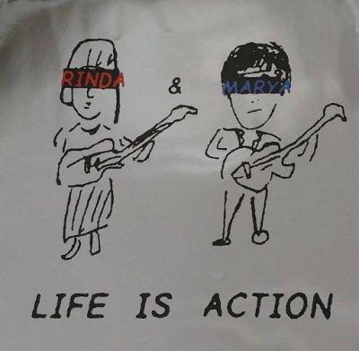リンダ&マーヤ 『LIFE IS ACTION』 (12