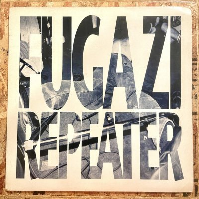 <img class='new_mark_img1' src='https://img.shop-pro.jp/img/new/icons5.gif' style='border:none;display:inline;margin:0px;padding:0px;width:auto;' />【USED】 FUGAZI 『REPEATER』 (12