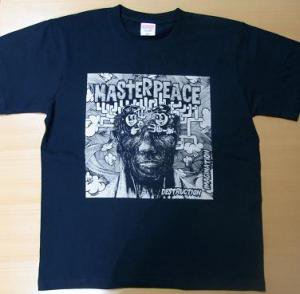 MASTERPEACE『DESTRUCTION IMAGINATION T-Shirts [ブラック/金プリント]』 (TEE/JPN)