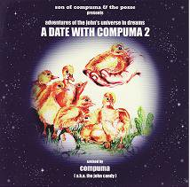 コンピューマ a.k.a. the john candy 『A DATE WITH COMPUMA 2 -adventures of〜-』 (CD/MIX CD)