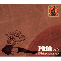 AMEL(R)A a.k.a. ADE FELA 『PRIA Vol.2』(CD/JPN/ MIX CD)