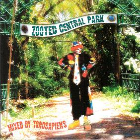 TONOSAPIENS 『zooted central park』 (CD-R/JPN /MIX CD)