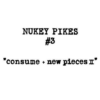 NUKEY PIKES 『comsume + new pieces�』 (CD + DVD/JPN /HARDCORE)