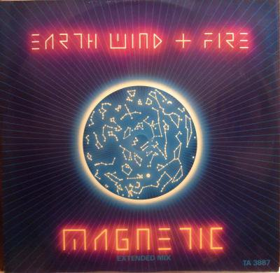 EARTH WIND AND FIRE 『MAGNETIC EXTENDED MIX』 (LP/USED/FUNK)
