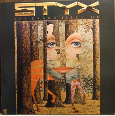 Styx 『The Grand Illusion』 (LP/USED/ROCK)