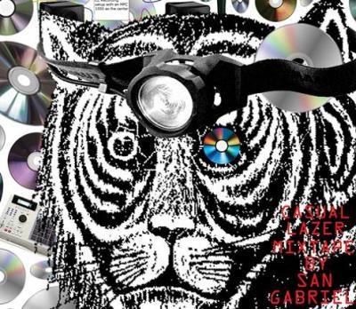 SAN GABRIEL 『CASUAL LAZER MIXTAPE』 (CD/JPN/ MIX CD)