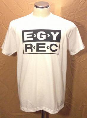 EGYPT RECORDS 『EGYREC T-Shirts [白]』 (TEE/JPN)